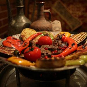 Блюда на садже